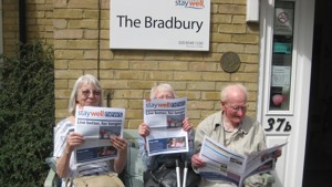 The Bradbury community in lockdown... 'An oasis for the wellbeing of the elderly'